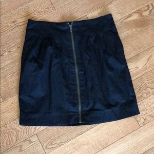 Silence and Noise Front Zip Skirt